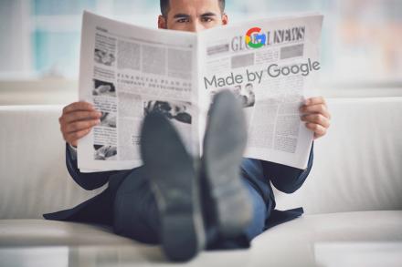 L'actualité faite par Google