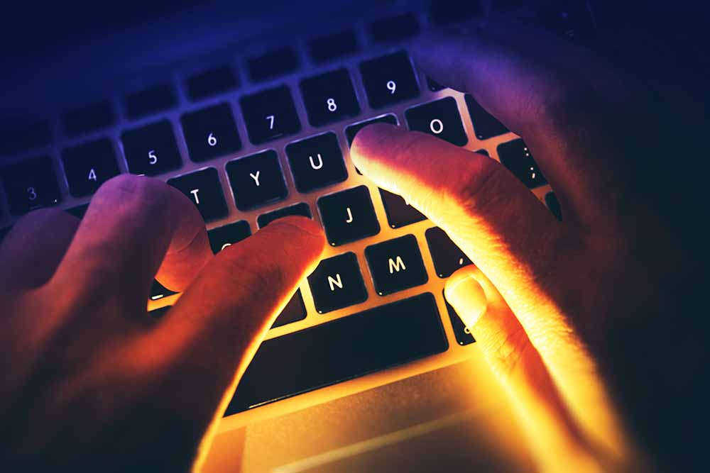 écrire deuil en ligne