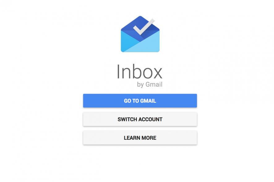 fin de la messagerie inbox de google