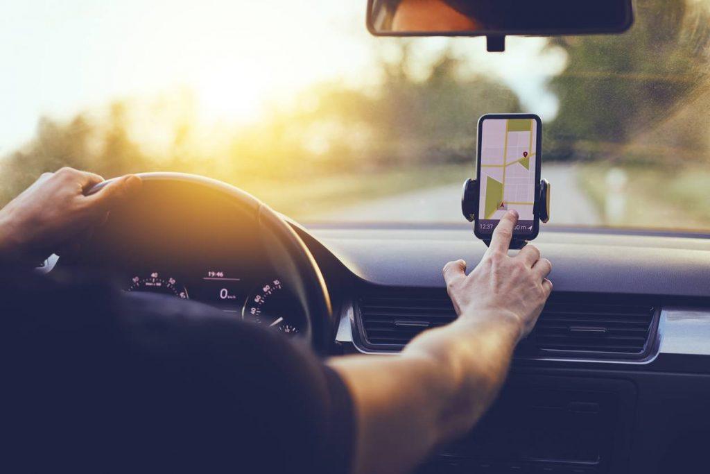 téléphone support de voiture
